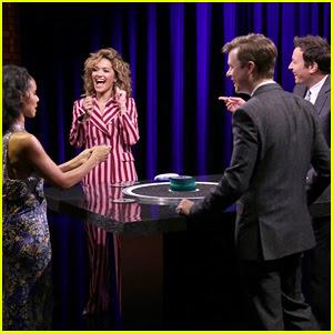 Jada Pinkett Smith, Dane DeHaan, & Rita Ora Play Catchphrase with Jimmy Fallon!