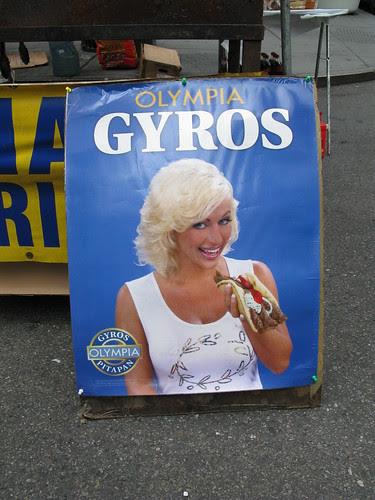 Gyros lady