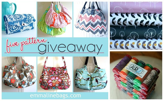 A Patter, Fabric, & Aurifil Giveaway!!