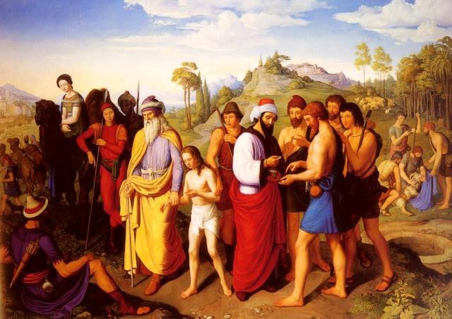 Joseph-Ον-Sold-Into-Slavery - Alexander Seitz Maximilian (1811-1888)