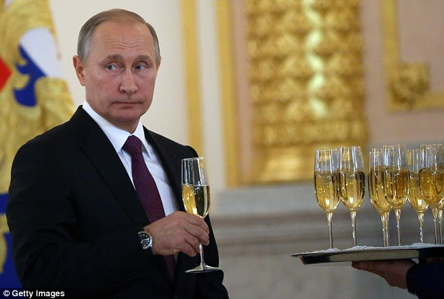 One of the most quoted guesses of the 64-year-old's net worth is political analyst Stanslav Belkovsky's 2007 estimation of $40billion, but other estimates have Putin's net worth at $200billion