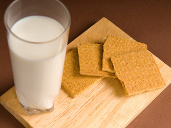 Image result for graham crackers and milk