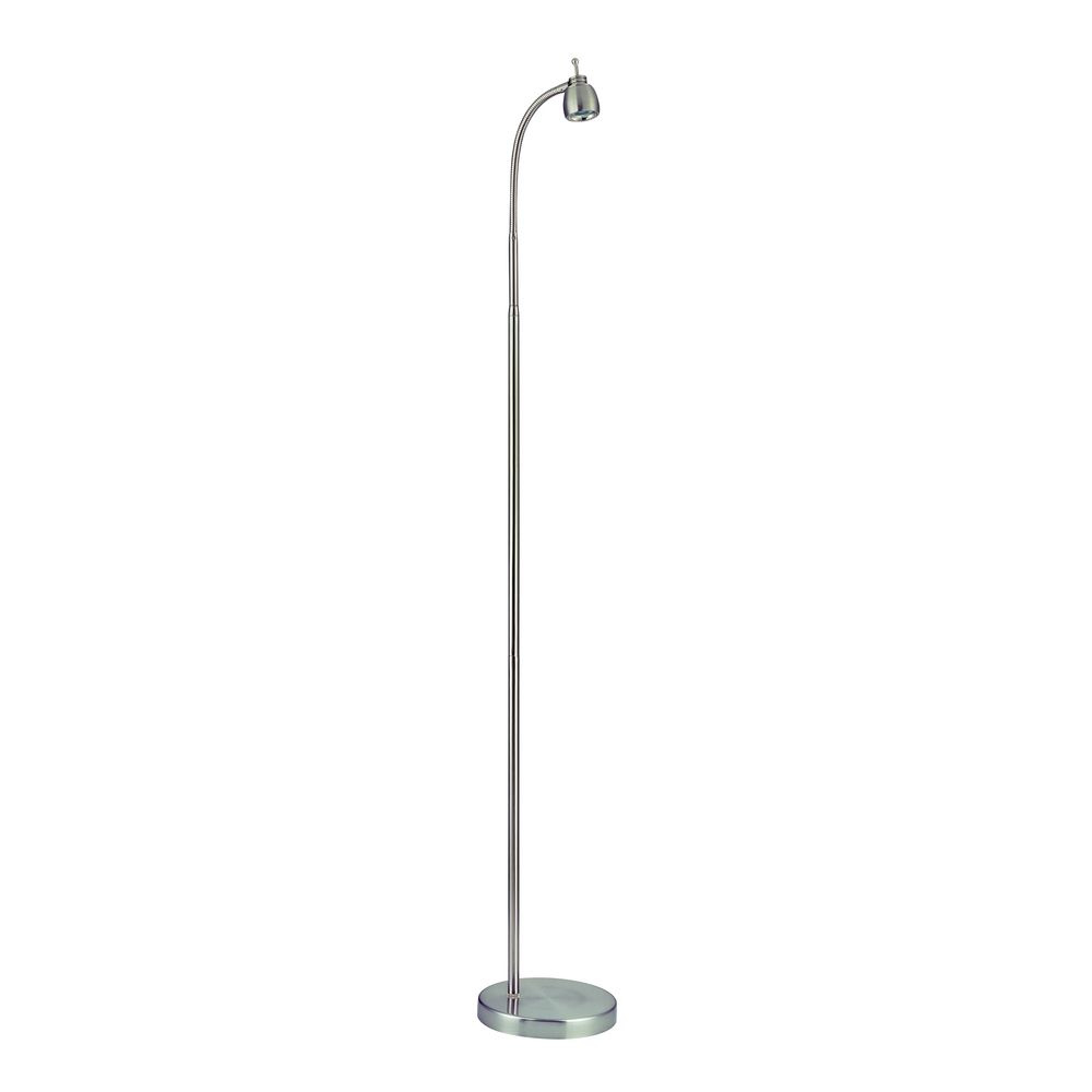LEDs by ZEPPELIN Adjustable LED Reading Floor Lamp | 823-09