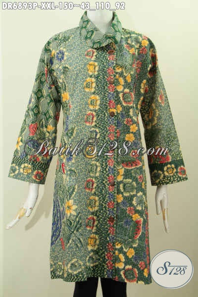 55+ Desain Baju Batik Muslim Untuk Orang Gemuk, Terkini!