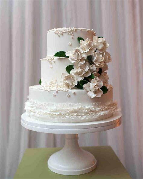 Sugar Flower Wedding Cakes   Martha Stewart Weddings