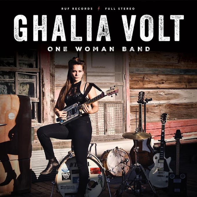 Ghalia Volt to Release 'One Woman Band' on Jan 29th