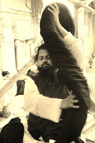 Syed Rafiq Ali Baba Masoumi .. 22 Feet DreadLocks by firoze shakir photographerno1