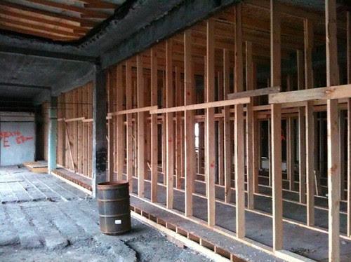 Metropolitan roof shoring