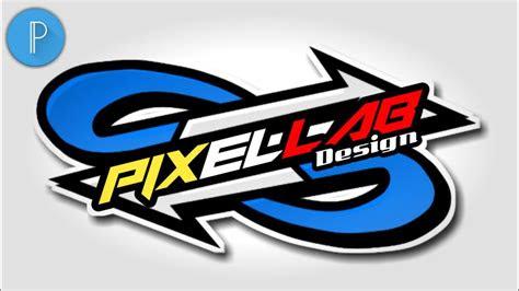 tutorial membuat logo keren  pixellab tutorial