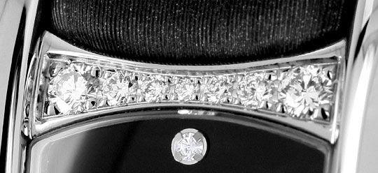 Foto 5, Ebel Beluga Manchette Da, Diamanten-Gehäuse-Zifferblatt, U1403