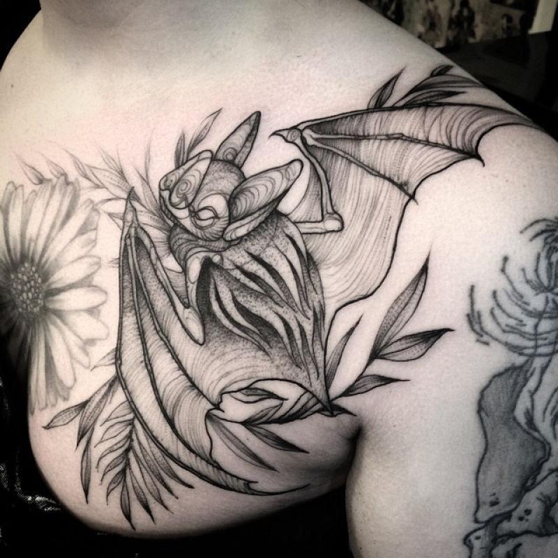 As tatuagens que parecem esboços de desenhos a lápis, por Nomi Chi 06