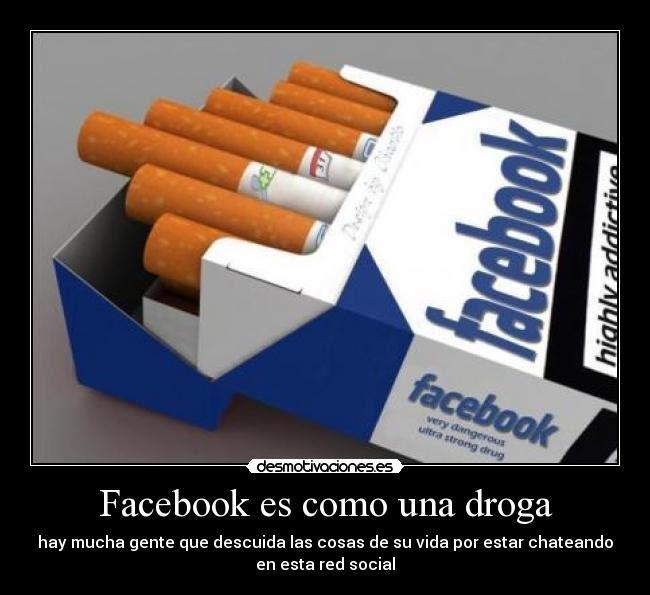 Facebook frotar y tirar drogas