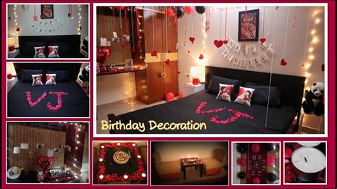 birthday decoration ideas  home surprise decoration