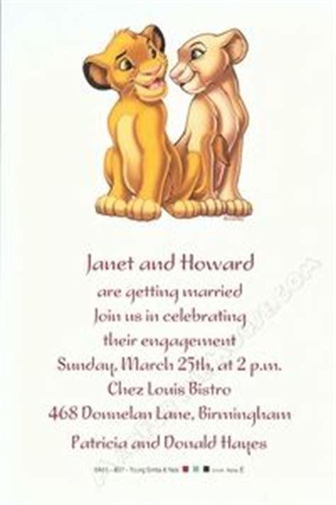 1000  ideas about Lion King Wedding on Pinterest