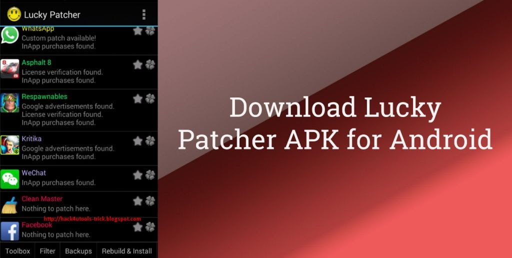 Lucky Patcher Apk Latest Version 2018 Download
