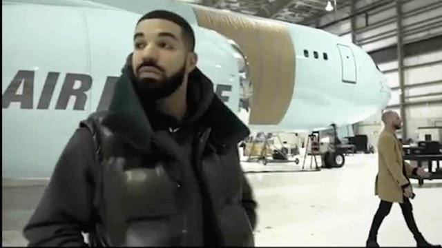 """Drake acquires private jet, names it """"Air Drake"""""""