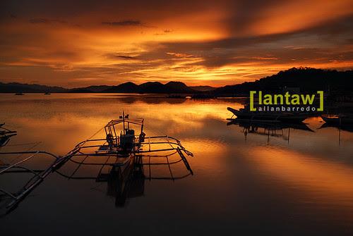 Coron sunset Bangka 2