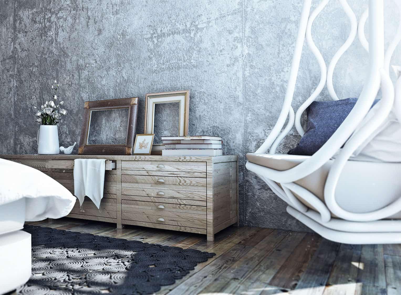 Loft Style Country House by Angelina Alexeeva (