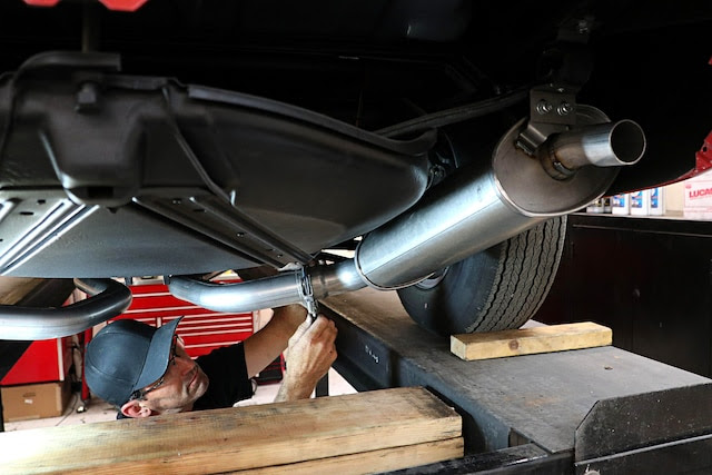 Replacing The Stock Exhaust System On A 1968 Small Block Corvette