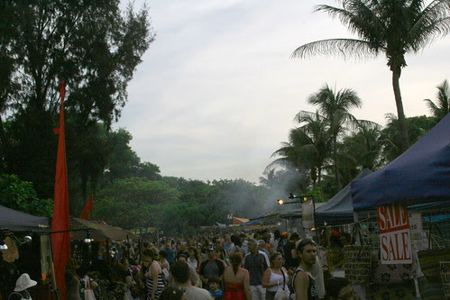 Crowds at Mindil Beach Market