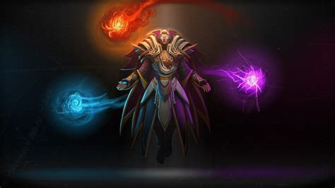 Full HD Wallpaper invoker dota 2 spell wizard, Desktop
