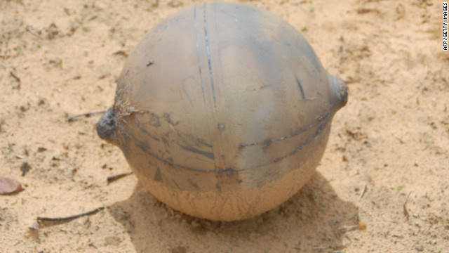 Mysterious metal ball from space falls in Namibia