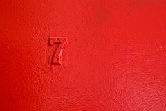 door red 7