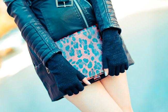 Leather Trench Coat, Marni Platforms, Ray Ban Wayfarer sunglasses, Fashion Outfit