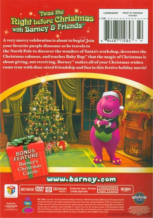 Barney: A Very Merry Christmas (DVD 2011)   DVD Empire