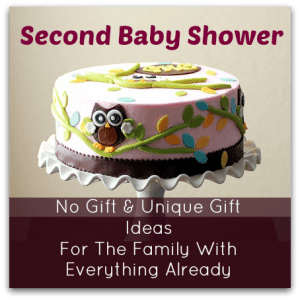 9 No Gift Second Baby Shower Ideas
