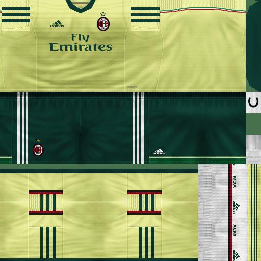 PES 6 : AC Milan Full Kit GDB 2014/2015 By Daniel_Juve ...