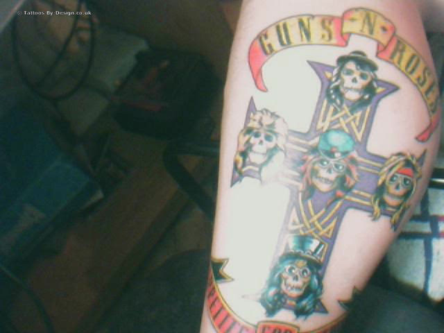 Guns N Roses Tattoo Tattoo