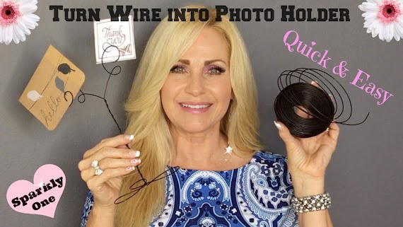 Popular How To Make A Wire Picture Holder