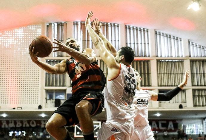 Flamengo x Liga Sorocabana, basquete (Foto: Bruno Lorenzo/Divulgação NBB)