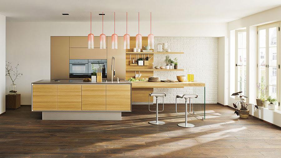 25 modelli di cucine in legno moderne dal design