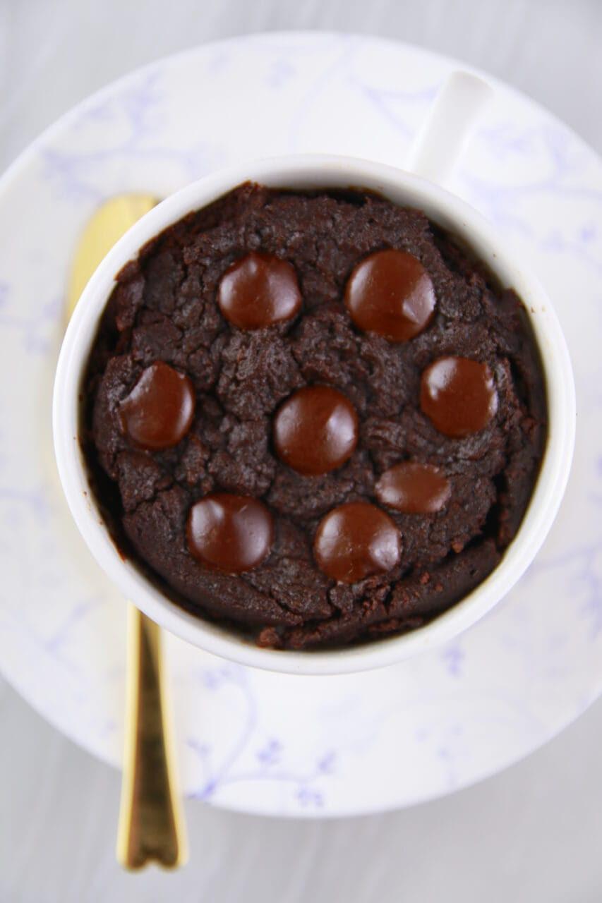 1 Minute Microwave Mug Brownie (Microwave Mug Meals ...