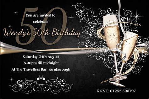 45  50th Birthday Invitation Templates ? Free Sample