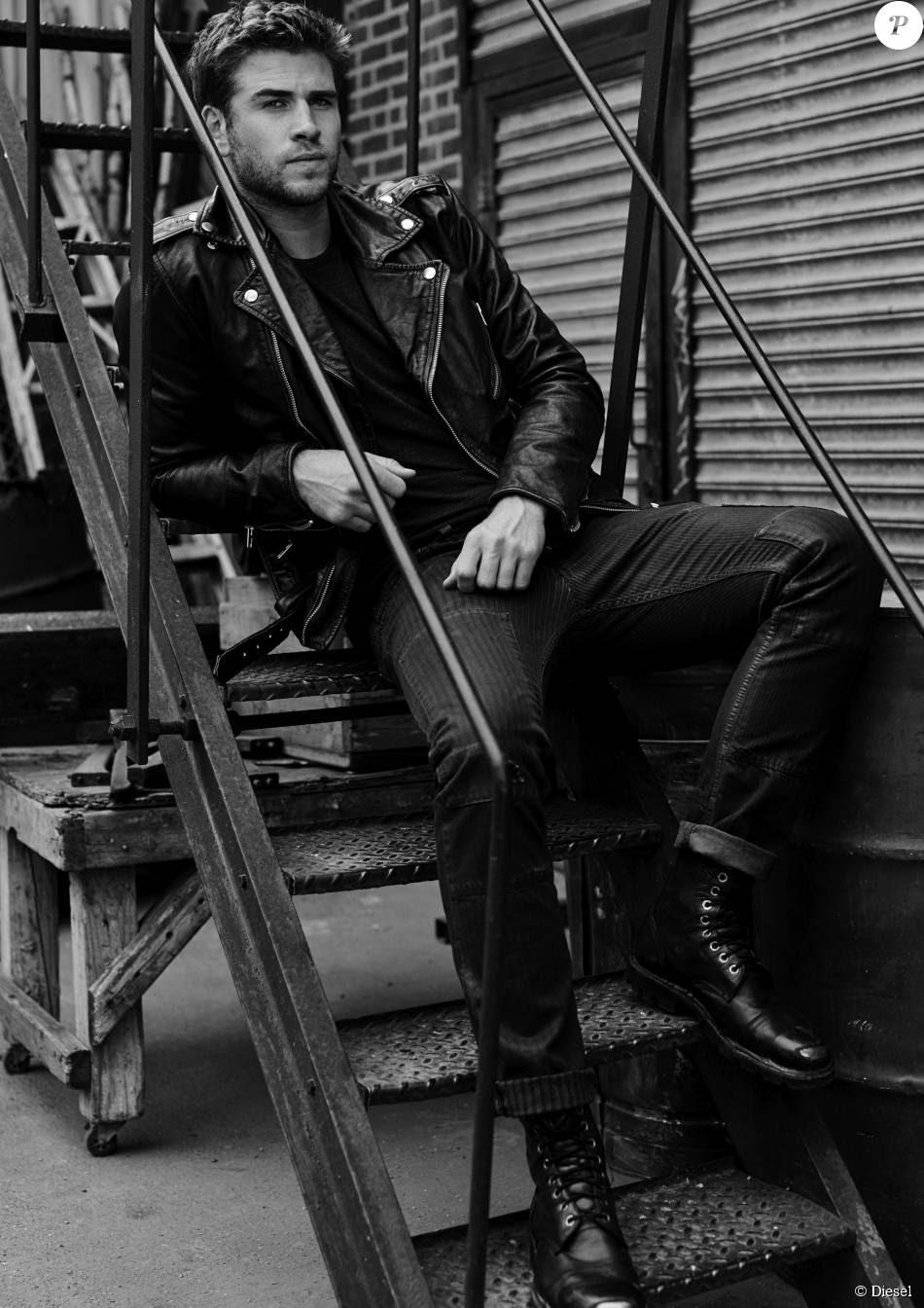 Liam Hemsworth est la nouvelle égérie du parfum Only The Brave, de Diesel