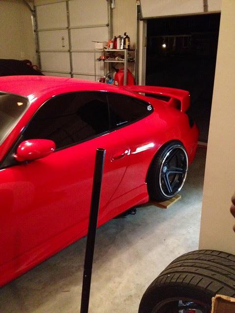 Porsche 996 Project Stance