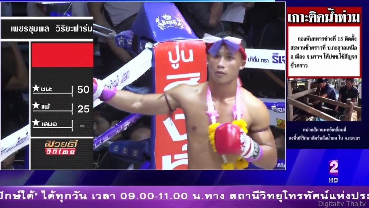 ศึกมวยดีวิถีไทยล่าสุด 2/4 22 มกราคม 2560 มวยไทยย้อนหลัง Muaythai HD https://youtu.be/o-AZxyOlrNE