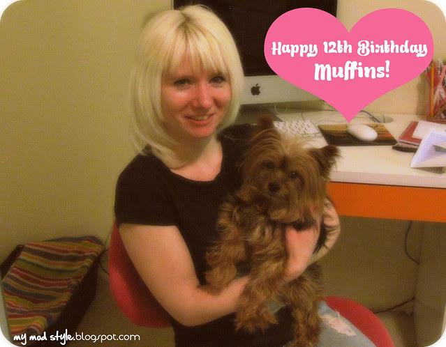 Muffins Birthday 2012