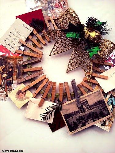 Diy Advent Calendar Wreath : Diy christmas card wreath advent calendar