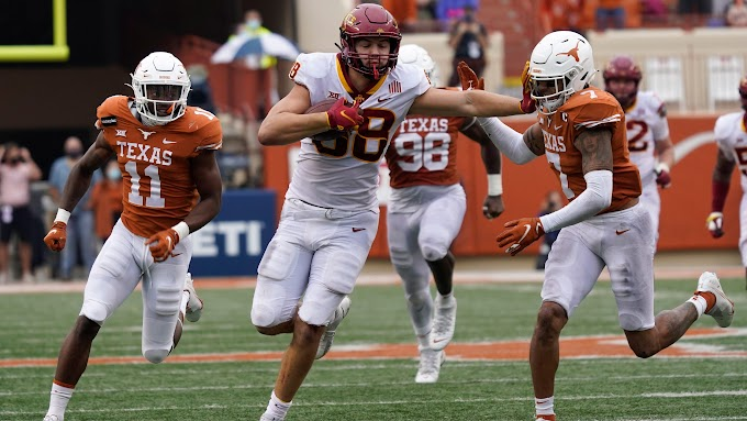 No. 15 Iowa State rallies past No. 21 Texas to close in on Big 12 championship game