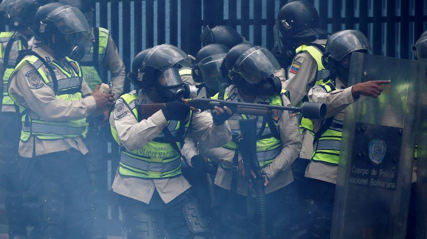 Venezuela: Las fotos más impactantes de la brutal represión