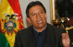Foreign minister Choquehuanca anticipates a new cosmic era of community spirit and love