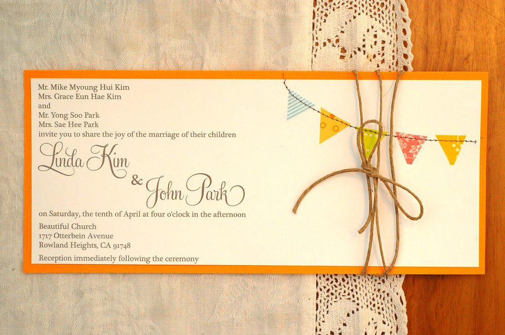 linda's wedding invitations