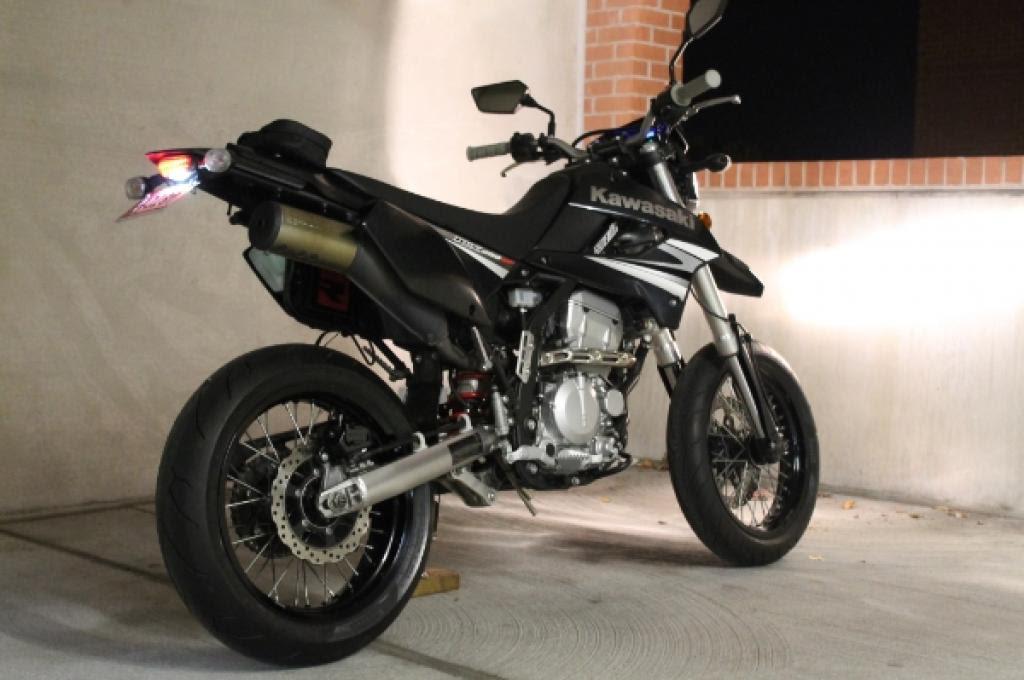 2009 Kawasaki KLX250SF Moto ZombDrive COM