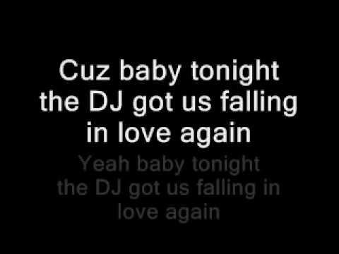 Dj Got Us Falling In Love Again Clean Lyrics