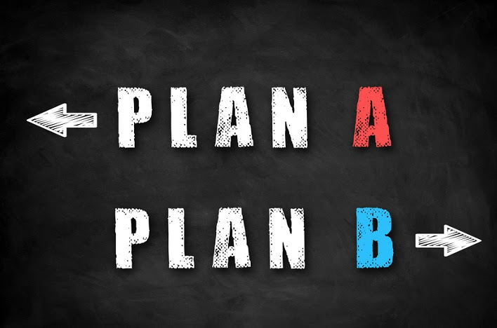 Image result for plan a plan b