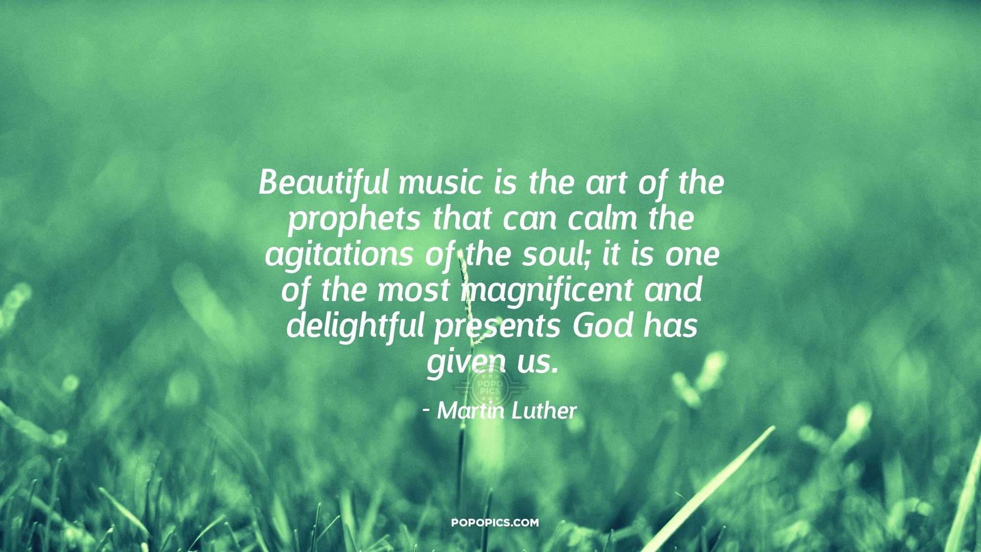 Beautiful Music Is The Art Of The Prophets That Quotes By